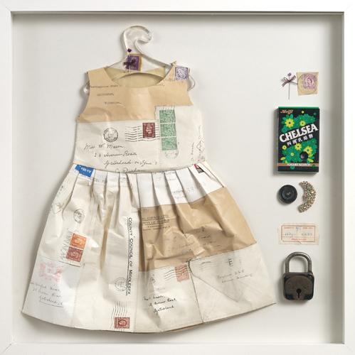 Papir kjole